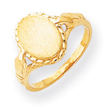 Signet Ring 14k Gold RS194