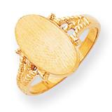 Signet Ring 14k Gold RS196