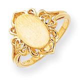 Signet Ring 14k Gold RS197