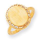 Signet Ring 14k Gold RS198