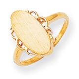 Signet Ring 14k Gold RS201