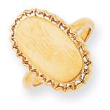Signet Ring 14k Gold RS204