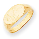 Signet Ring 14k Gold RS241