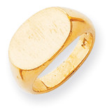 Signet Ring 14k Gold RS243