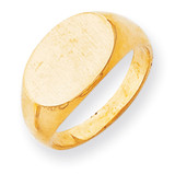 Men's Signet Ring 14k Gold RS244