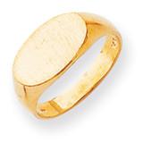 Signet Ring 14k Gold RS247