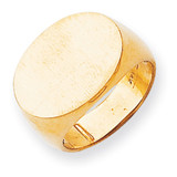 Men's Signet Ring 14k Gold RS250