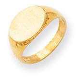 Signet Ring 14k Gold RS251