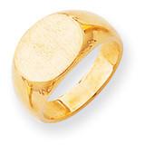 Signet Ring 14k Gold RS252