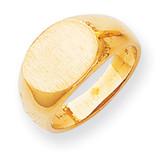 Signet Ring 14k Gold RS255