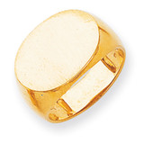 Men's Signet Ring 14k Gold RS257