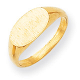 Signet Ring 14k Gold RS258