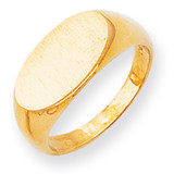 Men's Signet Ring 14k Gold RS260