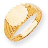 Signet Ring 14k Gold RS264