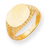 Signet Ring 14k Gold RS265