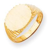 Signet Ring 14k Gold RS266