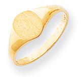 Signet Ring 14k Gold RS273