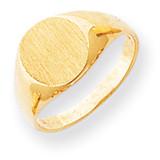 Signet Ring 14k Gold RS275
