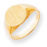 Signet Ring 14k Gold RS276