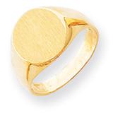 Signet Ring 14k Gold RS277