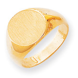 Men's Signet Ring 14k Gold RS279