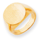 Signet Ring 14k Gold RS280