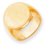 Men's Signet Ring 14k Gold RS282