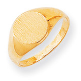 Signet Ring 14k Gold RS284