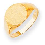 Signet Ring 14k Gold RS285