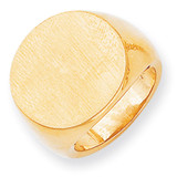 Men's Signet Ring 14k Gold RS290
