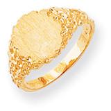 Signet Ring 14k Gold RS291