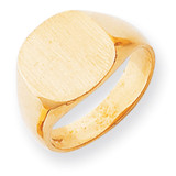 Men's Signet Ring 14k Gold RS301