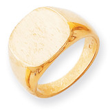 Men's Signet Ring 14k Gold RS302