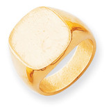 Men's Signet Ring 14k Gold RS303