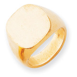 Men's Signet Ring 14k Gold RS304