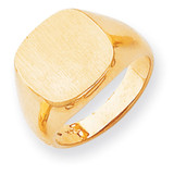 Men's Signet Ring 14k Gold RS306