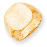 Men's Signet Ring 14k Gold RS308