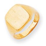 Signet Ring 14k Gold RS309