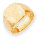 Men's Signet Ring 14k Gold RS310