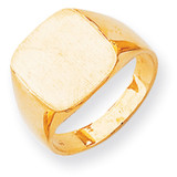 Men's Signet Ring 14k Gold RS311
