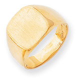 Men's Signet Ring 14k Gold RS314