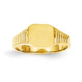 Signet Ring 14k Gold RS637