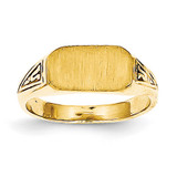 Signet Ring 14k Gold RS638