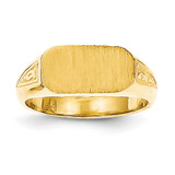 Signet Ring 14k Gold RS639