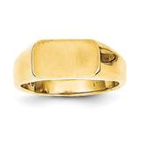 Signet Ring 14k Gold RS648