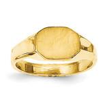 Signet Ring 14k Gold RS649