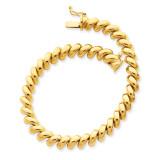 San Marco Bracelet 8 Inch 14k Gold SM10-8