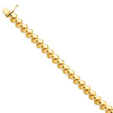 San Marco Necklace 17 Inch 14k Gold Polished SM20-17