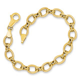 Fancy Bracelet 7 Inch 14k Gold ST723-7