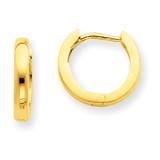 2.25mm Hinged Hoop Earrings 14k Gold TL153